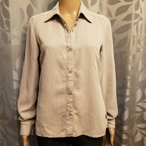 North Face Button Down Casual Shirt